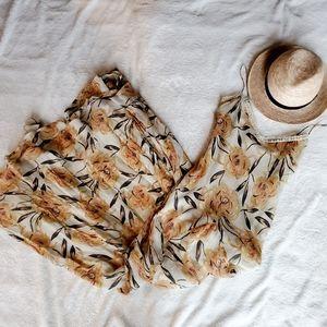 Winter Kate Maxi Floral Dress XS